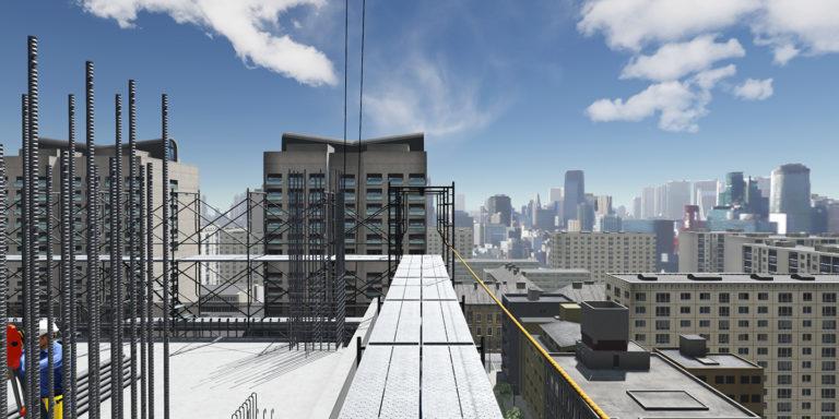 積木製作が建設現場の安全意識を VR 体験で向上
