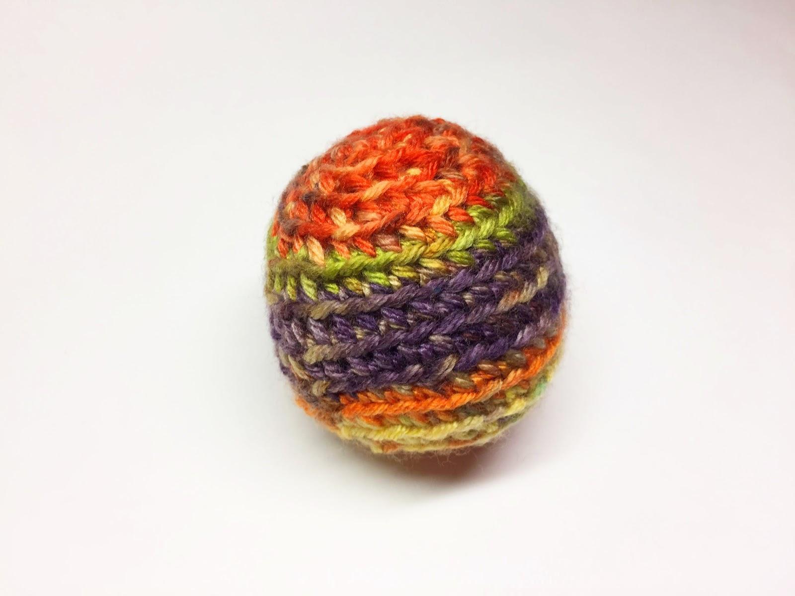 編みぐるみの基本形:球