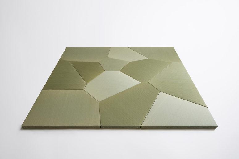 Voronoi Tatami TESSE 写真:Yasuhiro Takagi