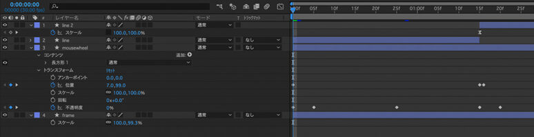 代表的なソフトとしては:After Effects , Premiere Pro, Final Cut Pro, ….etc.