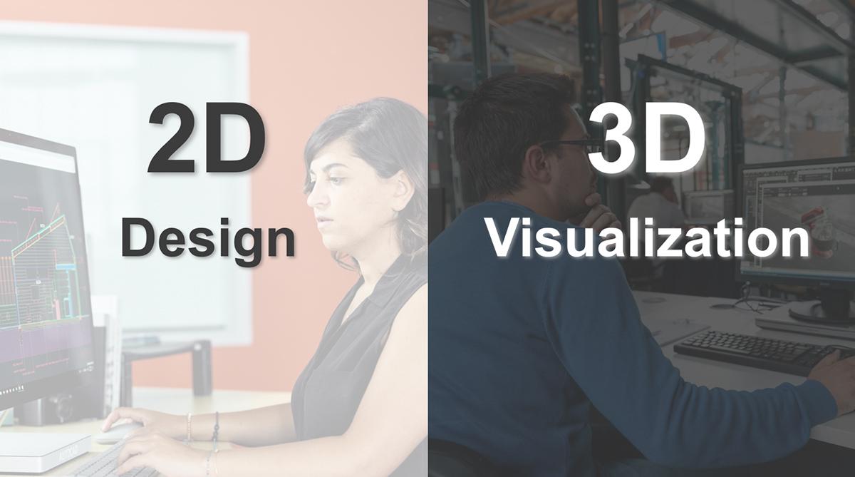設計=2D、パース=3Dといったように、それぞれ専門性が異なるという、文字通り次元の違う壁が存在した