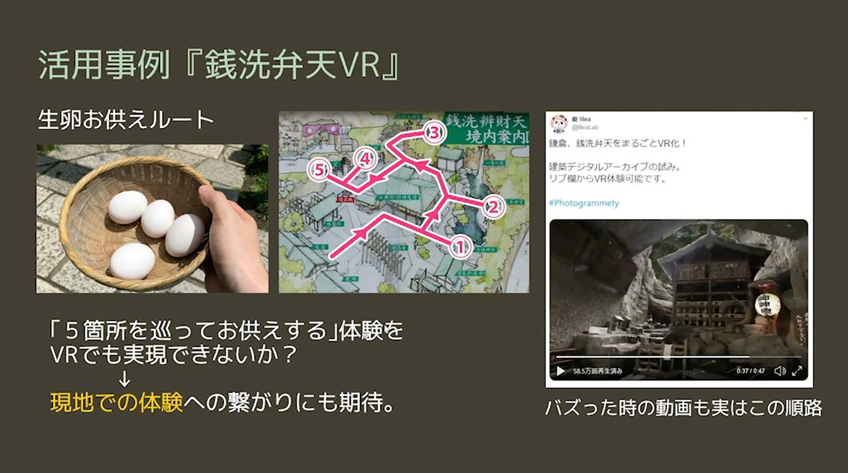 活用事例「銭洗弁天VR」02
