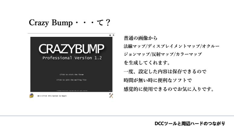 Crazy Bump